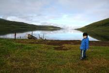 Á Ystanesi við Haukadalsvatn